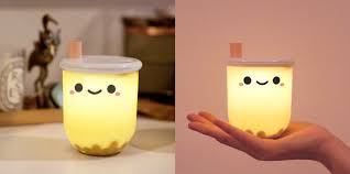 Boba Light This Adorable Boba Tea Lamp Is 12 And Available For Pre