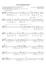 Bagpipe Finger Chart Amazing Grace This Is Amazing Grace By Jeremy Riddle Joshua Neil Farro Phil Wickham Hal Leonard Prima Music