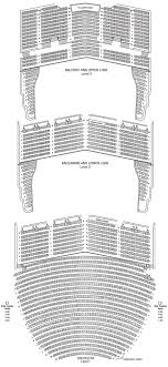 San Diego Civic Theatre Seating Chart Theatre In San Diego