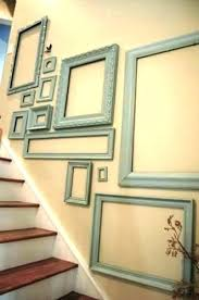 picture frames on staircase wall. Elegant Stairs Wall Decoration Q7128565 Staircase Art Ideas Extraordinary Picture Frames On M