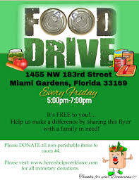 Food Drive Flyers Templates Food Drive Flyer Template Postermywall