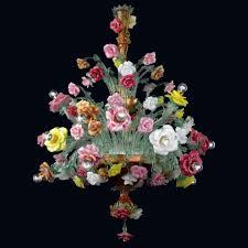 beatrice murano glass chandelier