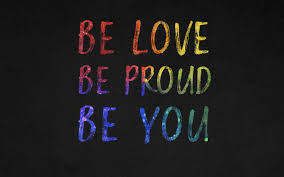 Be You 4K Wallpaper, Be Love, Be Proud ...