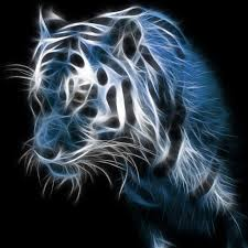 32654p2 Neon Tiger Wallpaper - Download ...