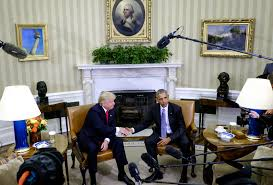 obamas oval office. President Barack Obama, Right, Shakes Hands With President-elect Donald Trump During A Obamas Oval Office