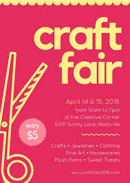 crafts classes for kids flyers event flyer templates by canva