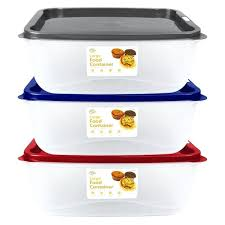 large food storage containers set of large food container tubs with microwaveable vented snap on lids