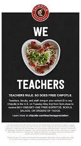 Teach: Chipotle Announces ...