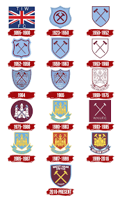 The club has traditionally played in a claret and blue home strip with white shorts. West Ham Logo The Most Famous Brands And Company Logos In The World