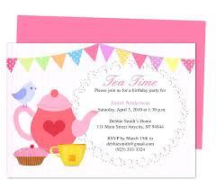 Tea Invitations Printable Stork Tea Invitations Free Download Printable Bridal High Tea