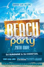 Beach Flyer Beach Party Flyers Ohye Mcpgroup Co