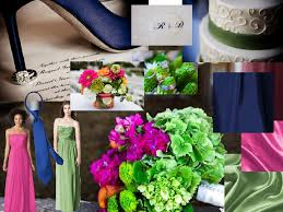 navy, hot pink, green pantone wedding styleboard the dessy group Wedding Colors Navy And Pink Wedding Colors Navy And Pink #35 wedding colors navy blue and pink
