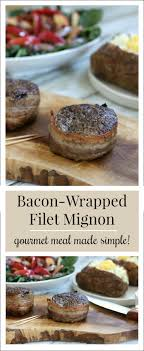 gourmet filet mignon dinner. Modren Filet A Perfectly Seared Baconwrapped Filet Mignon Is A Delicious Delicacy  Thatu0027s Deceivingly Simple And Gourmet Filet Mignon Dinner M