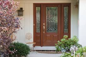 fiberglass entry doors are indistinguishable from their wooden counterparts and tend to be less expensive which makes them a great