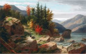 file the artist sketching oil painting by cornelius krieghoff jpg