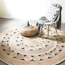 rugs that don t shed stunning round natural rug for decorating ideas 3