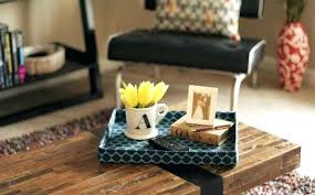 How To Decorate A Coffee Table Tray Coffee Table Tray Coffee Table Best Tray Ideas On Fearsome Wood 81