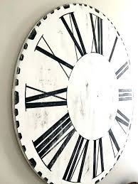 joanna gaines wall clock farmhouse wall clock a farmhouse wall clock joanna gaines large wall clock joanna gaines farmhouse wall clock