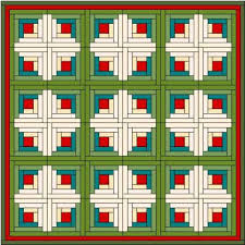 Log Cabin Quilt Block & Below I have demonstrated a few of the different log cabin quilt designs. I  have not included any instructions as they are for your inspiration only. Adamdwight.com