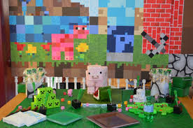Minecraft Party Decorations 17 Best Images About Minecraft On Pinterest Kids Clothing