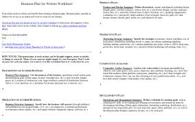 introducing the business plan for writers worksheet jami gold screen shot of both pages of the business plan for writers worksheet