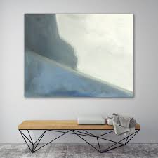 Living Room Paintings Art Abstract Landscape Painting Ocean Cliff Modern Art Painting Wall