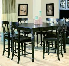 awesome black pub height dining sets black counter height dining table counter height dining room chairs designs