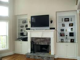 full size of mantelmount mm340 above fireplace pull down tv mount wall mounting over is the