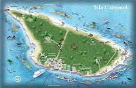 cozumel tourist map