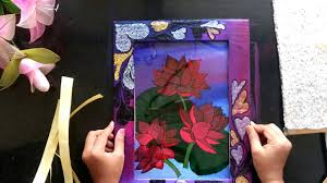 framing a glass painting at home