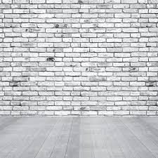 brick wall texture background with wood