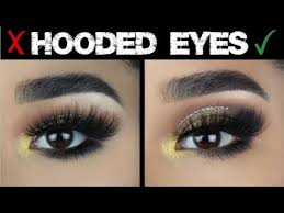 hooded eyes makeup do s and don ts