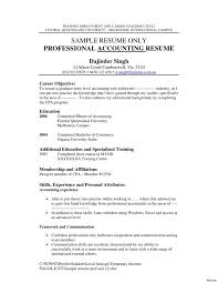 Sample Accountant Resume Magnificent Resume Tax Accountant Resume Sample Will Objective Accounting For