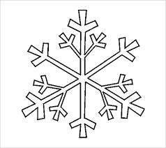 17 Snowflake Stencil Template Free Printable Word Pdf