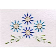 Stitching Patterns Adorable Free Bead Card Stitching Epattern In Free Epatterns Epatterns At