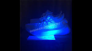 Cream White Yeezy Black Light Uv Light Review For Yeezy 350v2 Triple White From Sneakershoebox Ru