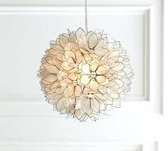 lotus flower chandelier pottery barn designs pendant large