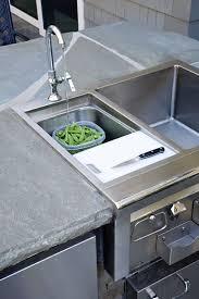 outside kitchen sink