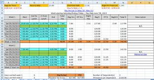 Overtime Calculation In Excel Format Mrexcel Message Board