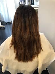 髪が硬くて多毛のクセやうねりでお困りの髪質改善before After 髪質