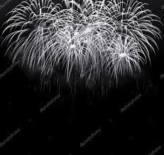 暗い夜空の上の白い花火 ストック写真 Madllen 50788915