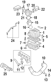 parts com® hyundai santa fe engine trans mounting oem parts diagrams 2007 hyundai santa fe gls v6 2 7 liter gas engine trans mounting