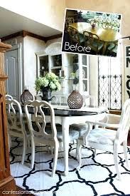 redo dining room chairs painted dining room set best painted dining room table ideas on chalk