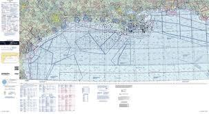 Us Vfr Wall Planning Chart U S Gulf Coast Vfr Charts