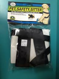 Four Paws Black Car Safety Dog Harness See Description For Size Chart