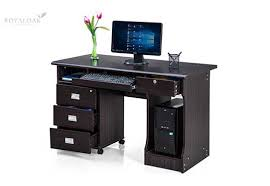 office table photos. Royaloak Petal Office Table-Black Table Photos