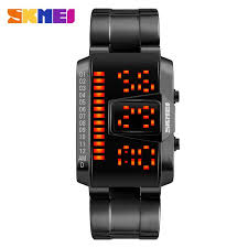 <b>SKMEI Fashion Creative</b> LED Sports Watch Men Luxury 50m ...