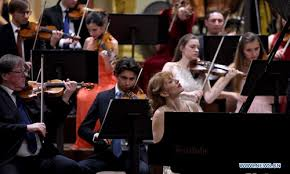 2020 <b>Gala</b> concert for Chinese <b>New Year</b> held in <b>Vienna</b> - Global ...