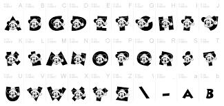 ディズニーキャラのイラストが詰まった厳選ディズニー文字フォント10選