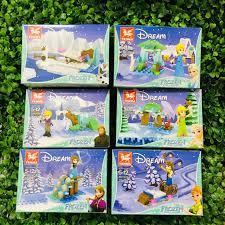 Bán & Cho Thuê Đồ Chơi Trẻ Em - KhánhLy Shop - Lego Xếp Hình Công Chúa Elsa  TM1020 (6 In 1) dành cho bé từ 6 tuổi 🎟️ Giá Cửa hàng: